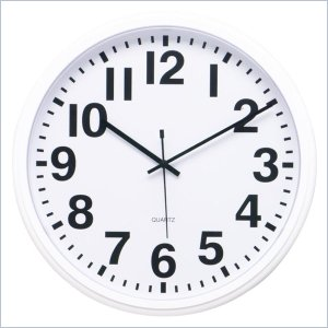 Lorell Quartz 13-1/2&quot; Wall Clock LLR01454