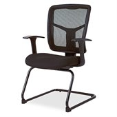 Lorell 86000 Series Mesh Side Arm Guest Chair