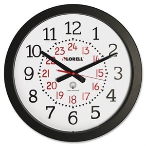 Lorell 60993 Radio Controlled Wall Clock