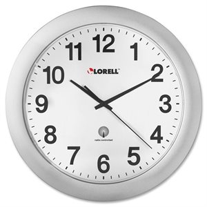 Lorell 60996 Radio Controlled Wall Clock
