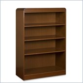 Lorell Radius Veneer Bookcase