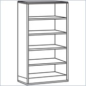 Lorell Contemporary 9000 Bookcase