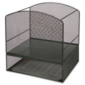 Lorell Mesh Hanging File Organizer