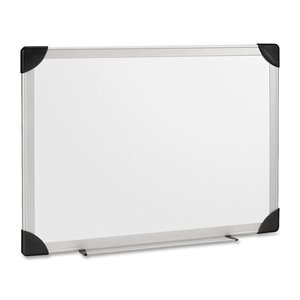 Lorell Aluminum Frame Dry Erase Board