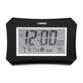 Lorell LCD Wall/Alarm Clock
