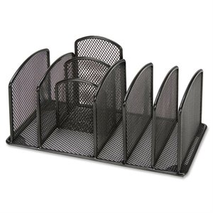 Lorell Deluxe Mesh Desktop Organizer
