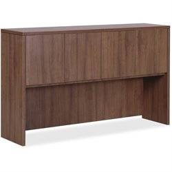 Lorell Walnut Laminate Office Suite Desking