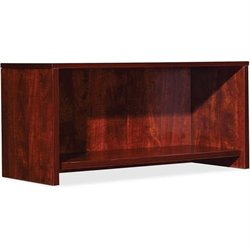 Lorell Essential Series Mahogany Wall Mount Hutch