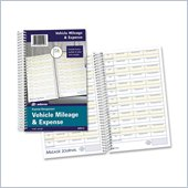 Adams Vehicle Mileage/Expense Journal Pocket
