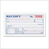 Adams Wire Bound Money/Rent Receipt Books