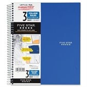 Mead Five Star 3-Subject Notebook