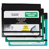 Five Star Advance Index Card Keeper