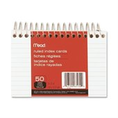 Mead Spiral Bound Index Card
