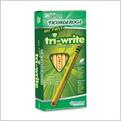 Dixon Ticonderoga Tri-Write Beginner No. 2 Pencils