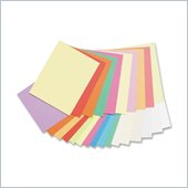 Pacon Array Pastel/Bright Colors Jumbo Card Stock