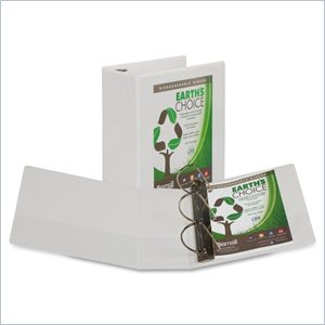 Samsill Earth's Choice Biodegradable D-Ring View Binder