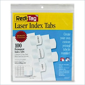Redi-Tag Laser Index Tab