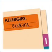 Redi-Tag Allergies Medi-Label