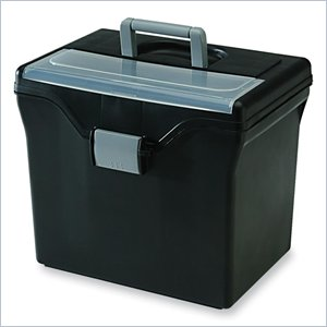 Iris HFB-24-TOP Portable File Box with Organizer Top