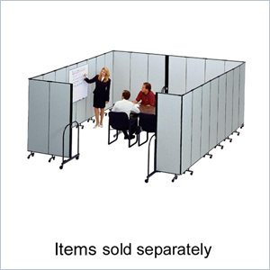 Screenflex FREEstanding Commercial Editable Portable Room Divider