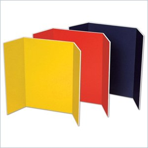 Pacon Tri Fold Foam Presentation Board