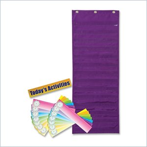 Pacon Dry Erase Activity Pocket Chart
