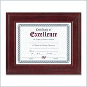 Burnes Executive Mahogany Document Frame