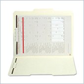 SJ Paper Reinforced Folder with Fasteners