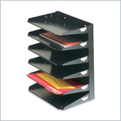MMF Steelmaster 2646HBK Horizontal Organizer