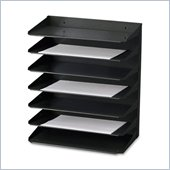 MMF Steelmaster 2647HBK Horizontal Organizer