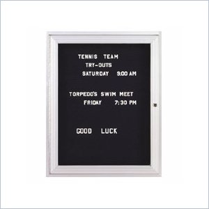 Ghent Enclosed Letterboard