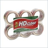 Duck HD Clear Heavy-Duty Packaging Tape