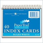 Roaring Spring Spiralbound Ruled Index Cards