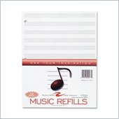 Roaring Spring Music Filler Paper