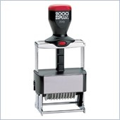 COSCO ClassiX Self-Inking 10-Band Number Stamp