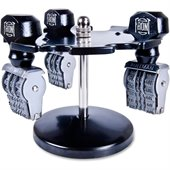 COSCO Revolving Caster Stamp Rack