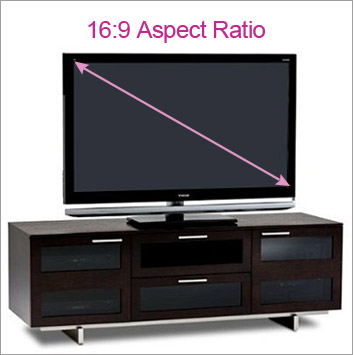 HDTV Aspect Ratio TV Stand