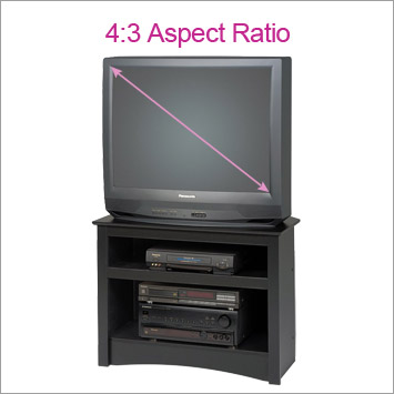 CRT Aspect Ratio TV Stand
