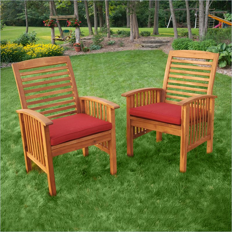 chicago texile patio chair