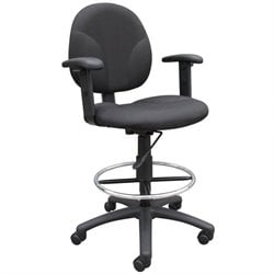 Boss Office Drafting Stool