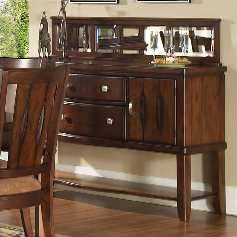 Furniture Dining Room Furniture Server Mirrored