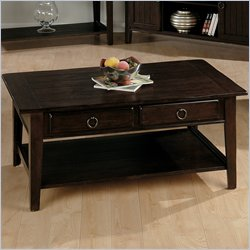 jofran-081 series rectangular wood cocktail table