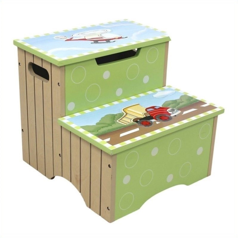 Teamson Design Teamson Kids Transportation Hand Painted Step Stool at Sears.com