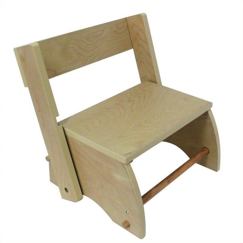 Teamson Design Large Step Stool in Natural at Sears.com