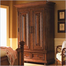 Tommy Bahama Home Island Estate St. Kitts TV Armoire in Plantation