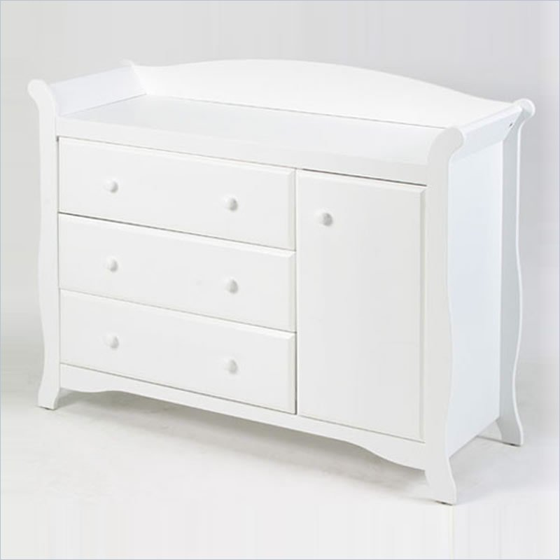 Stork Craft Aspen Combo Dresser in White at Sears.com