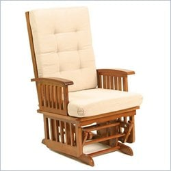 Storkcraft Traditional Cognac Rocking Chair Baby Furniture