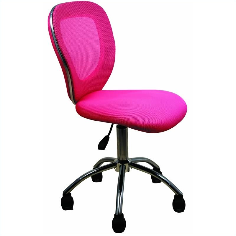 Techni Mobili Q030 Mesh Pink Office Chair Ebay