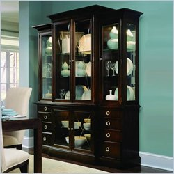 stanley beau breakfront China Cabinet