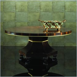 american drew bob mackie signature round cocktail table